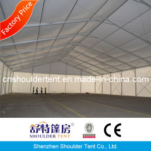 30m Large Aluminum Heavy Duty Warehouse Storage Tent with Rolling Shutter pictures & photos