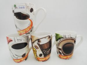 Ceramic Mugs with Flowers pictures & photos
