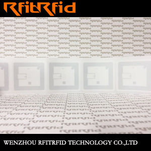 13.56MHz Custom Adhesive Stickers RFID Tags for Library Books