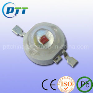 1W Infrared High Power LED, 660nm, 850nm, IR High Power LED pictures & photos