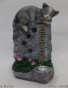 Animals Sculpture Figurine Solar Power Light
