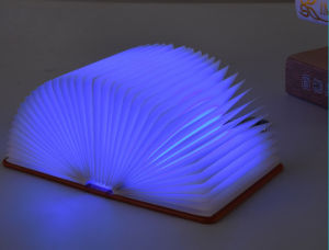 Rechargeable Foldable Mini Book Lamp pictures & photos