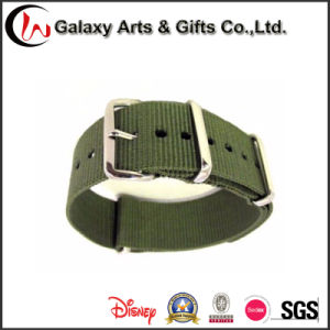 18mm Woven Nylon Watch Strap for Watch with SGS (LW-801)