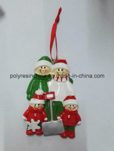 Resin 3D Christmas Ornament with High Quality pictures & photos