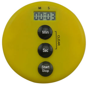 Round Shaped Mini Type Kitchen Usage Digital Timer pictures & photos