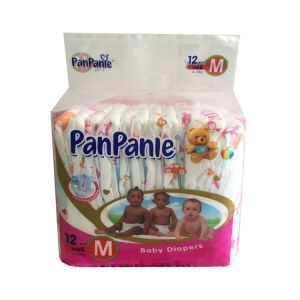 Infant Diaper Disposable Type with Good Fluff Pulp&Sap