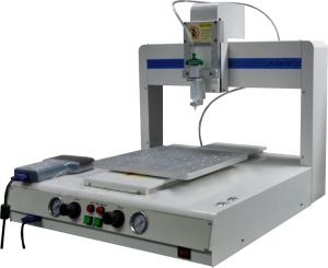Four-Axis Fully Automatic Glue Dispensing Machine for Coating of Hardware