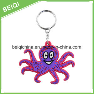 Best Factory Custom Personalized Plastic Fancy 3D Squirrel PVC Keychain pictures & photos