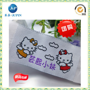 Custom Woven Label Fabric Label Clothing Label for Garment (JP-CL089) pictures & photos