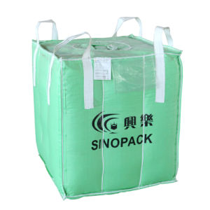 4-Panel PP Woven Big Bag for 1000kgs Baffle pictures & photos