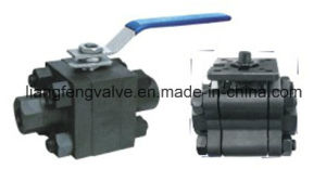 Forged Stainless Steel Flange End Ball Valve