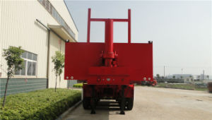 3 Axles 8.5m Self-Dumping Flatbed Semi-Trailer