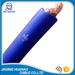 Blue Transparent PVC Insulated CCA Conductor Car Power Cable pictures & photos