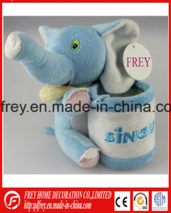 OEM Customized Plush Toy Pencile Holder Gift pictures & photos