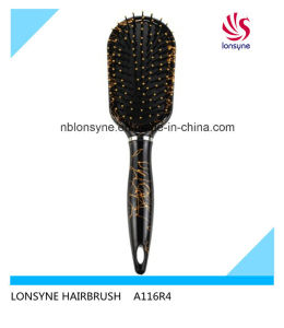 Popular Hairbrush with Black Cushion