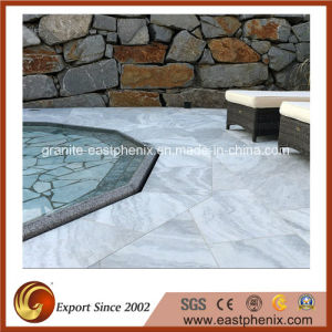 Surface Polished White Black Grey Brown Beige Marble Flooring Pool Tile