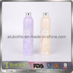 Empty Aluminum Powder Bottle with Oxidic Sifter Closure