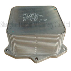 Cummins ISF2.8 diesel engine part 5266955 5318533 oil cooler core pictures & photos