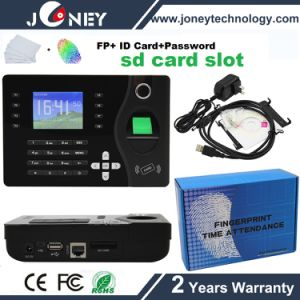 Low Cost P2p Biometric Fingerprint Time Attendance with RFID Card Reader pictures & photos