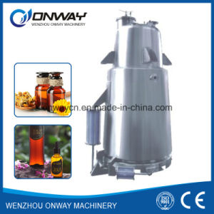 Rho High Efficient Factory Price Energy Saving Hot Reflux Solvent Herbal Essential Oil Steam Distillation Plant