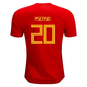 b5762eb9070 2018 Spain Jersey Home Away Soccer Jersey 18 19 World Cup Home Soccer Shirt  2019 Morata