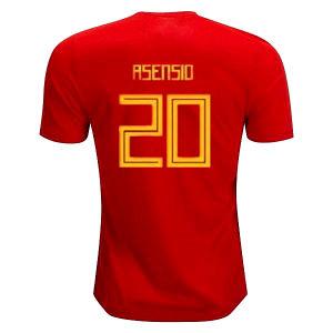 35e7e4b16 2018 Spain Jersey Home Away Soccer Jersey 18 19 World Cup Home Soccer Shirt  2019 Morata