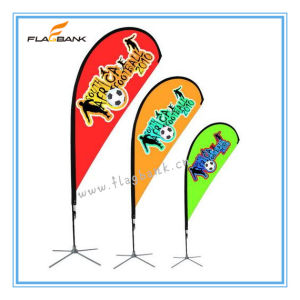 Exhibition Aluminium Portable Beach Flag Display Banner Stand pictures & photos