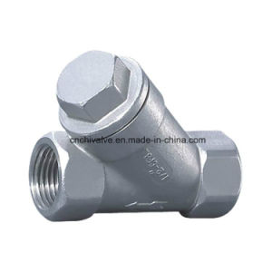 Stainless Steel Threaded Connection Y Strainer Filter pictures & photos