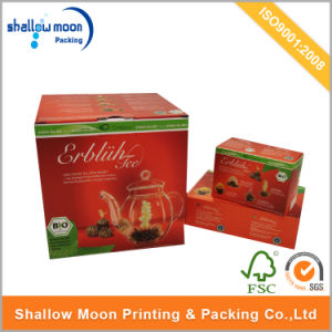 Customized Printing Tea Pot Packaging Corrugated Paper Box (QYCI15218)