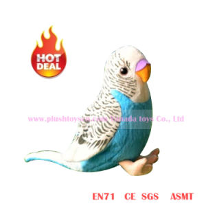 13cm Blue Simulation Lory Plush Toys