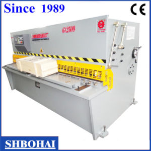 Hydraulic Pendulum Plate Shear Machine (QC12Y 8 X 2500) pictures & photos