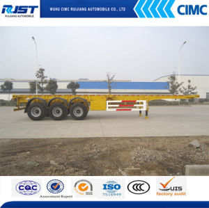 40t Three Axle Skeleton Semi Trailer pictures & photos