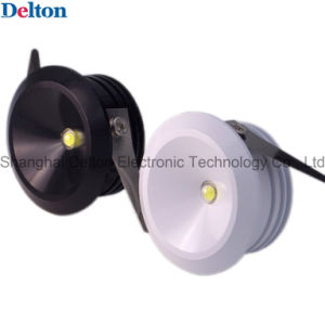Delton 1W Round Mini Commercial Lighting Use LED Spot Light (DT-CGD-016) pictures & photos