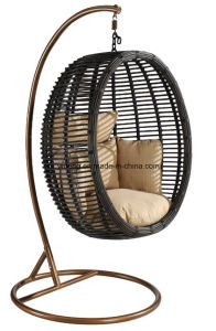 Cheap Outdoor Garden Furniture Hammock Balcony Swing Chair by Sythetic PE-Rattan Handing Woven (YTA592-1) pictures & photos