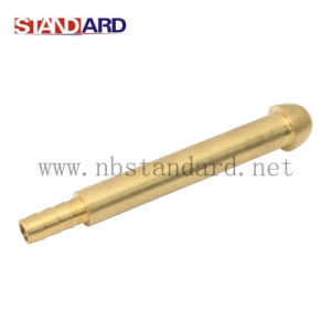 Brass Gas Fitting with Long Pipe