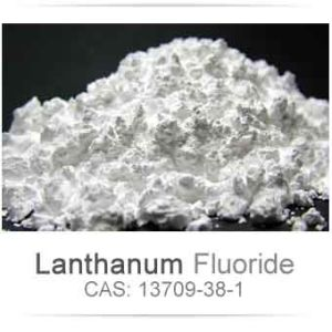 Lanthanum Fluoride Laf3 with High Purity 99.99%