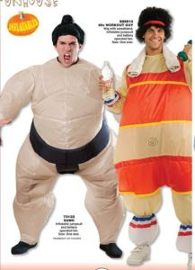 Adult Airblown Inflatable Fat Sumo Wrestler Halloween Costume Fancy Dress Jumpsuit  sc 1 st  Made-in-China.com & China Adult Airblown Inflatable Fat Sumo Wrestler Halloween Costume ...