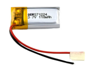 Hot Sales Battery 571224 Lithium Polymer Battery pictures & photos