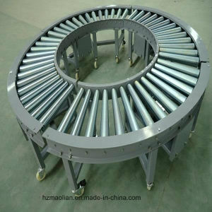 Curved Roller Conveyor with Chain pictures & photos