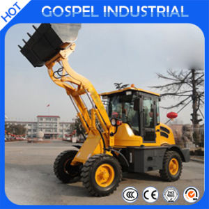 2016 Hot Sale New 1200kgs Mini Wheel Loader
