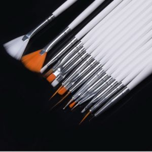 Professional Nail Art Brush Set with Private Label Print pictures & photos