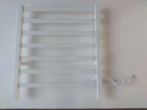 Stainless Steel White Towel Warmer Rack
