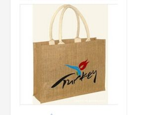 OEM Fashion Custom Printed Logo Promotional Gunny Bag pictures & photos