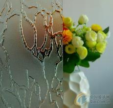 5mm Clear Patterned Glass/ Decoration Glass From Shahe City pictures & photos