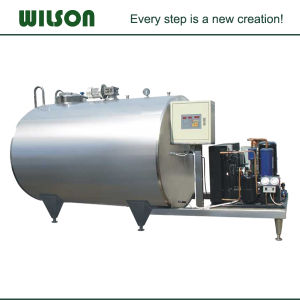 Horizontal Refrigeration Milk Cooling Tank