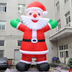 giant inflatable santa claus model bmct98
