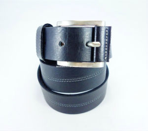 Modern Handsome Men′s Leather Belt (EU5038-35)