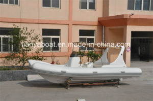 20ft Liya Orca Hypalon Rib Fiberglass Tender Boat Mini Yacht in Turkey pictures & photos