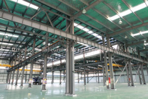 High Space Utilization Prefabricated Light Steel Structure Workshop/Warehouse pictures & photos