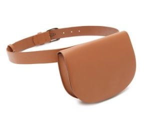 Water Base-Faux Leather PU Vintage Fanny Pack Designer Handbag (LDB-015) pictures & photos
